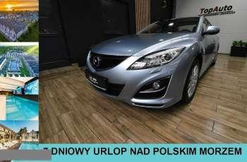Mazda 6 LIFT serwisowana TYLKO 65 000 KM FABRYCZNY LAKIER gwarancja FILM