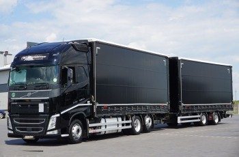 Volvo / FH / 500 / XXL / ACC / EURO 6 / ZESTAW PRZEJAZDOWY 120 M3