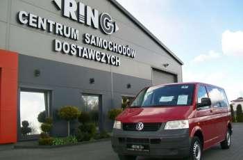 Volkswagen Transporter T5 1.9TDI 102KM A/C 9 OSÓB ZAREJESTROWANY NR 9