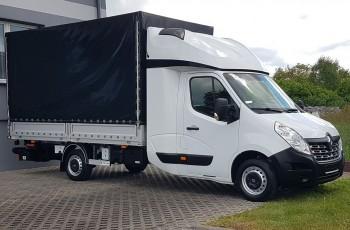 Renault Master WINDA 2xŁÓŻKO PLANDEKA PAKA SKRZYNIA ŁADUNKOWA KLIMA TEMPOMAT