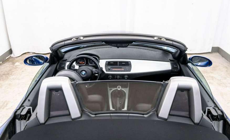 BMW Z4 2.5si 218KM Cabrio Bi-Xenon Podgrzewane fotele Fotele M Skóra Tempomat zdjęcie 8
