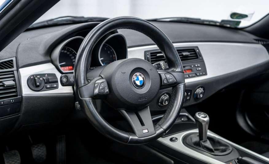BMW Z4 2.5si 218KM Cabrio Bi-Xenon Podgrzewane fotele Fotele M Skóra Tempomat zdjęcie 9