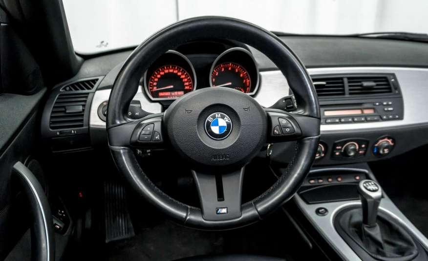 BMW Z4 2.5si 218KM Cabrio Bi-Xenon Podgrzewane fotele Fotele M Skóra Tempomat zdjęcie 10