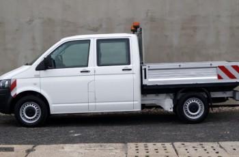 Volkswagen Transporter T5 Doka Brygadówka 2015 rok z Klimą Webasto