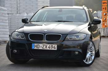 BMW 320 Czarny M-Pakiet Zarejestrowany 2.0D 163KM Lift Navi Alu Gwarancja