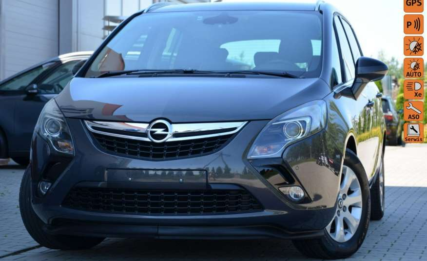 Opel Zafira Zafira Opłacona 1.6CDTI 136KM Bi-Xenon Navi Serwis Alu Gwarancja zdjęcie 1