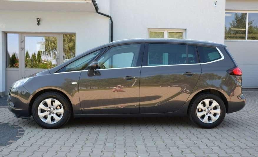 Opel Zafira Zafira Opłacona 1.6CDTI 136KM Bi-Xenon Navi Serwis Alu Gwarancja zdjęcie 4