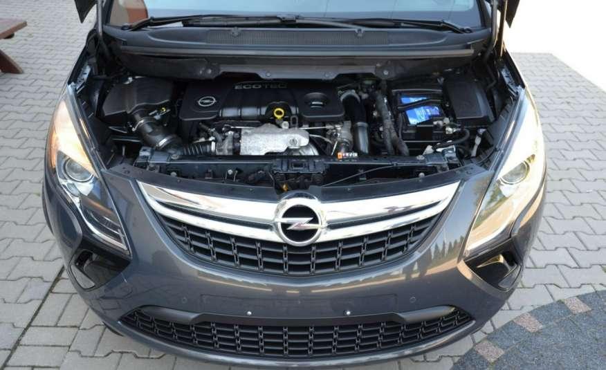 Opel Zafira Zafira Opłacona 1.6CDTI 136KM Bi-Xenon Navi Serwis Alu Gwarancja zdjęcie 5