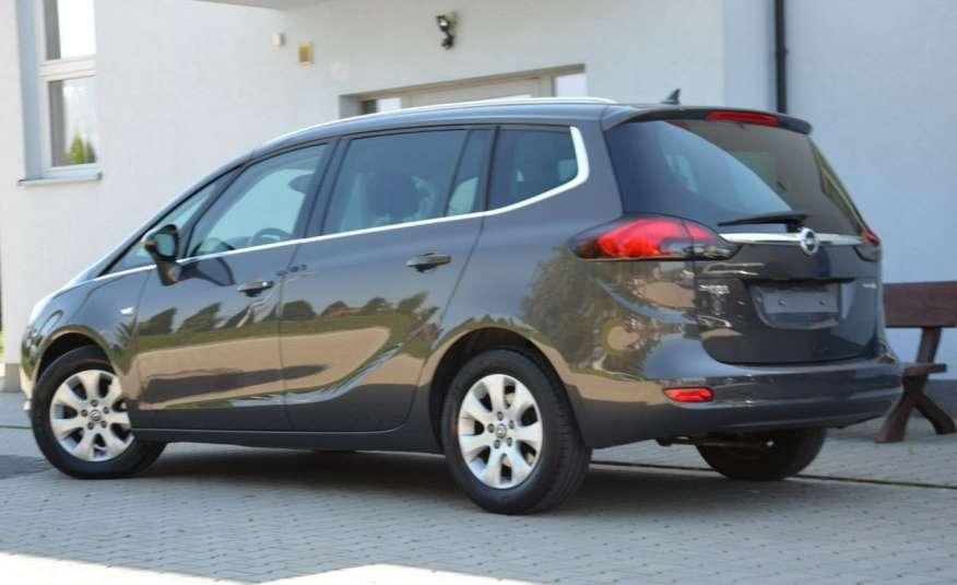 Opel Zafira Zafira Opłacona 1.6CDTI 136KM Bi-Xenon Navi Serwis Alu Gwarancja zdjęcie 11