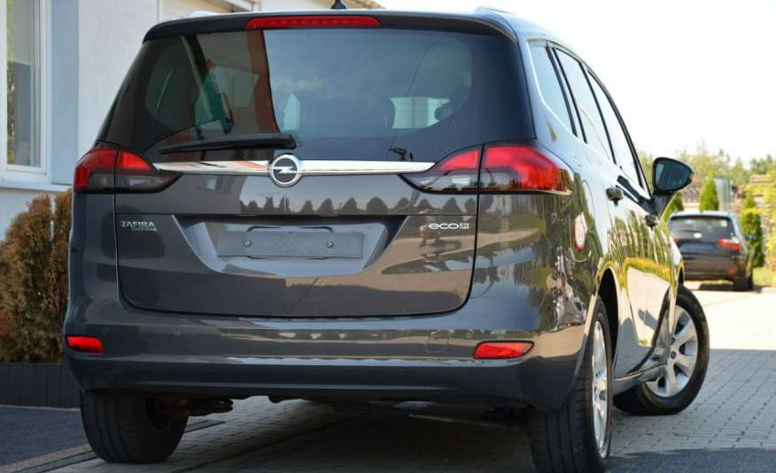 Opel Zafira Zafira Opłacona 1.6CDTI 136KM Bi-Xenon Navi Serwis Alu Gwarancja zdjęcie 13