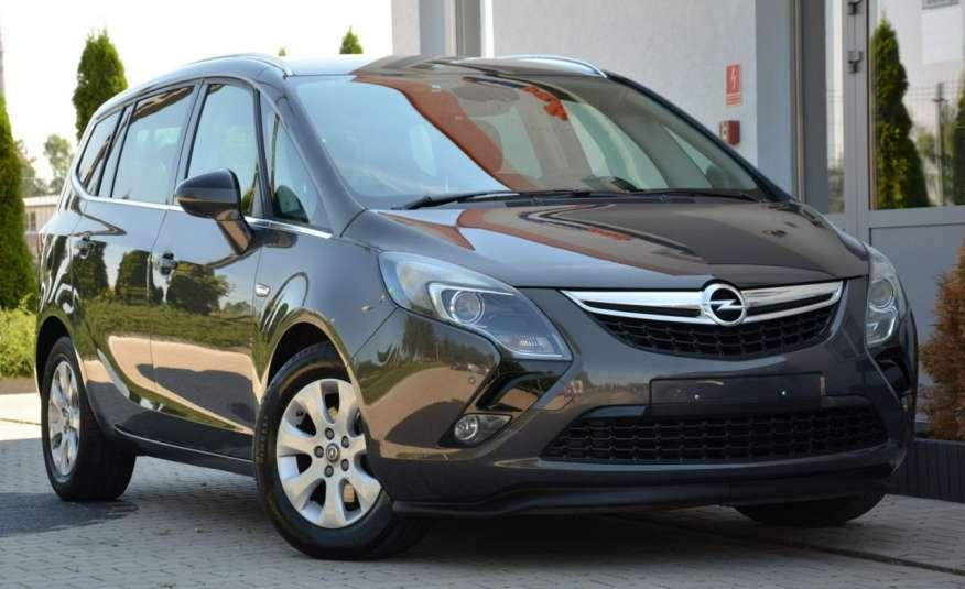 Opel Zafira Zafira Opłacona 1.6CDTI 136KM Bi-Xenon Navi Serwis Alu Gwarancja zdjęcie 17