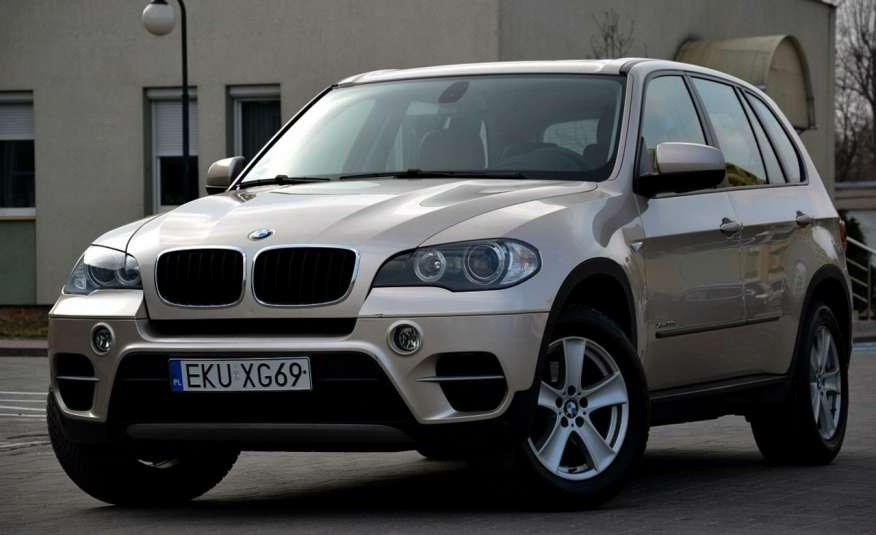 BMW X5 Zarejestrowana 3.0D Serwis Jasna skóra Navi Panorama Gwara zdjęcie 9