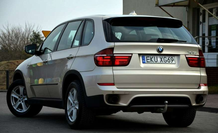 BMW X5 Zarejestrowana 3.0D Serwis Jasna skóra Navi Panorama Gwara zdjęcie 16