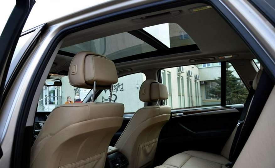 BMW X5 Zarejestrowana 3.0D Serwis Jasna skóra Navi Panorama Gwara zdjęcie 29