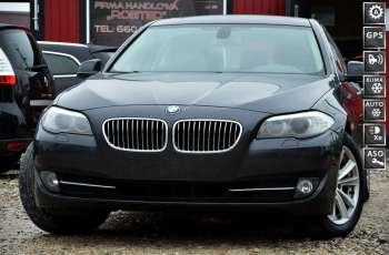 BMW 520 Zarejestrowana 2.0D 184KM Serwis Panorama Navi Skóra Xenon