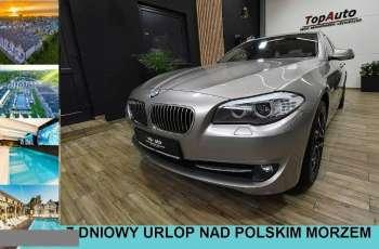 BMW 520 F11 XENON automat navi PANORAMA nowy rozrząd ZAREJESTROWANY FILM