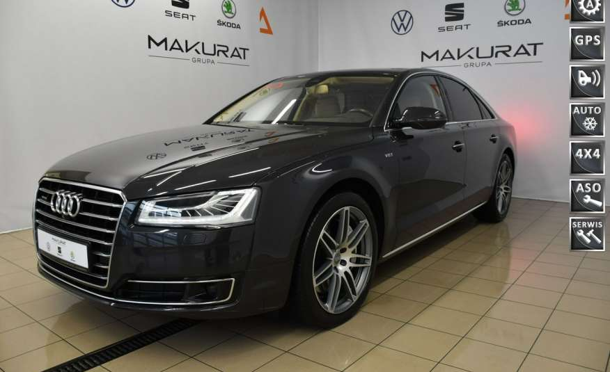 Audi A8 Vat23%, Matrix, Night vision Head-UP, Wentylacja, kamera360, Pneumatyka 4x2 zdjęcie 1