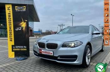 BMW 525 2.0 twin turbo 218KM, x drive, automat, skóry, bi xenon, led, rok gwarancji