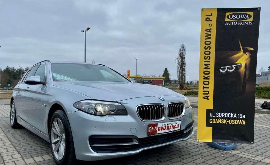 BMW 525 2.0 twin turbo 218KM, x drive, automat, skóry, bi xenon, led, rok gwarancji zdjęcie 2