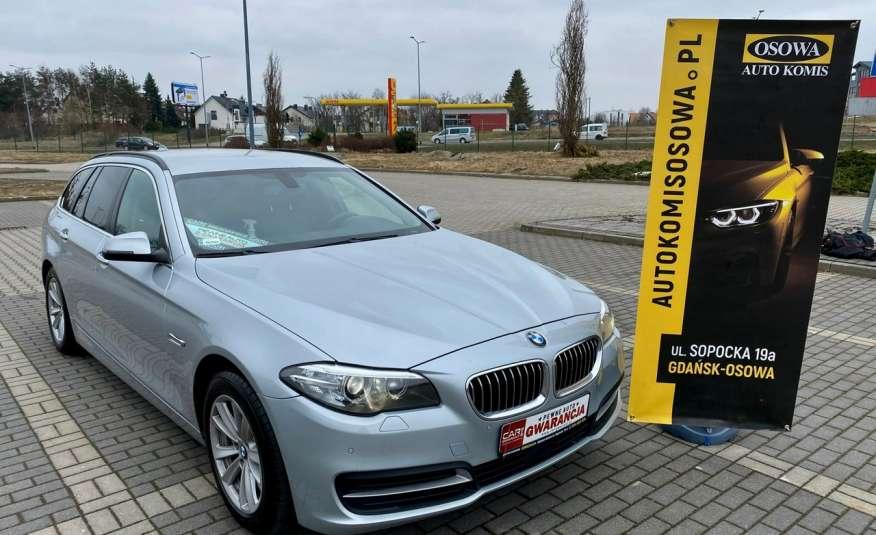 BMW 525 2.0 twin turbo 218KM, x drive, automat, skóry, bi xenon, led, rok gwarancji zdjęcie 3
