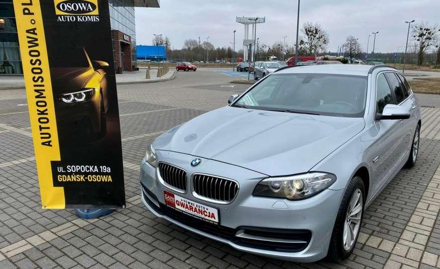 BMW 525 2.0 twin turbo 218KM, x drive, automat, skóry, bi xenon, led, rok gwarancji zdjęcie 4