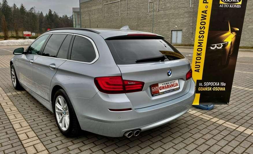 BMW 525 2.0 twin turbo 218KM, x drive, automat, skóry, bi xenon, led, rok gwarancji zdjęcie 5