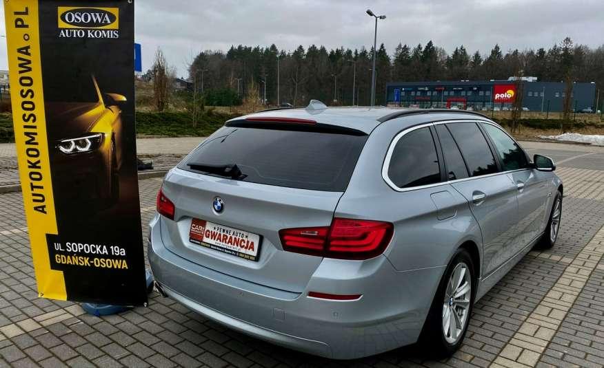 BMW 525 2.0 twin turbo 218KM, x drive, automat, skóry, bi xenon, led, rok gwarancji zdjęcie 6
