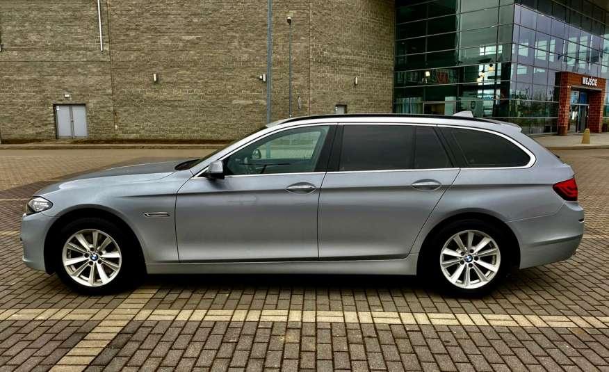 BMW 525 2.0 twin turbo 218KM, x drive, automat, skóry, bi xenon, led, rok gwarancji zdjęcie 7