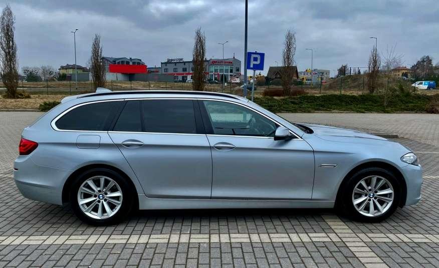 BMW 525 2.0 twin turbo 218KM, x drive, automat, skóry, bi xenon, led, rok gwarancji zdjęcie 8