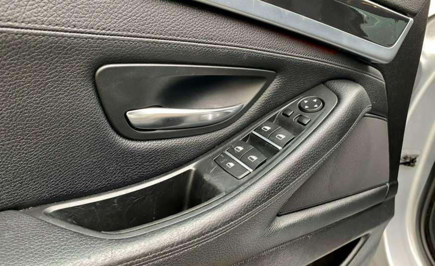 BMW 525 2.0 twin turbo 218KM, x drive, automat, skóry, bi xenon, led, rok gwarancji zdjęcie 9