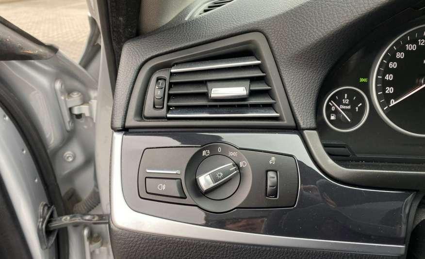 BMW 525 2.0 twin turbo 218KM, x drive, automat, skóry, bi xenon, led, rok gwarancji zdjęcie 11