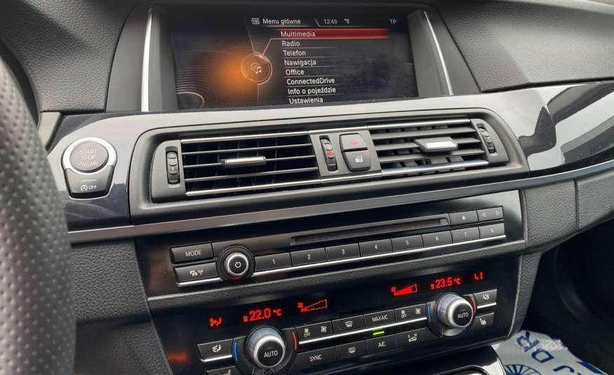 BMW 525 2.0 twin turbo 218KM, x drive, automat, skóry, bi xenon, led, rok gwarancji zdjęcie 14