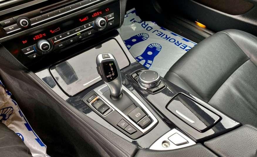 BMW 525 2.0 twin turbo 218KM, x drive, automat, skóry, bi xenon, led, rok gwarancji zdjęcie 15