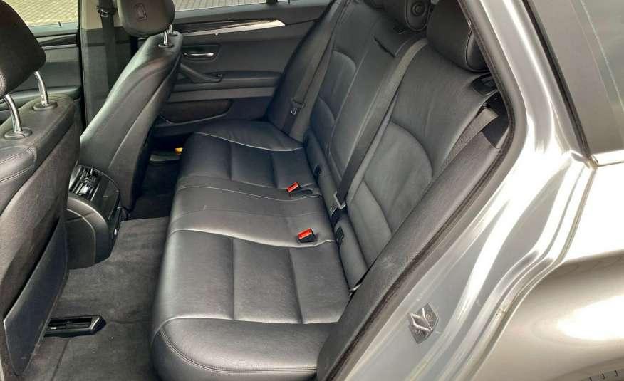 BMW 525 2.0 twin turbo 218KM, x drive, automat, skóry, bi xenon, led, rok gwarancji zdjęcie 18