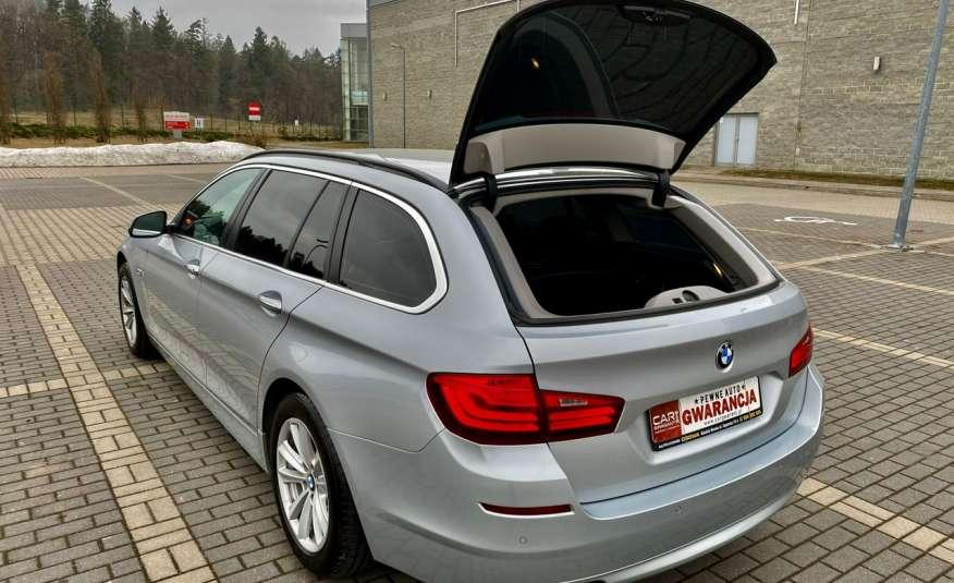 BMW 525 2.0 twin turbo 218KM, x drive, automat, skóry, bi xenon, led, rok gwarancji zdjęcie 19