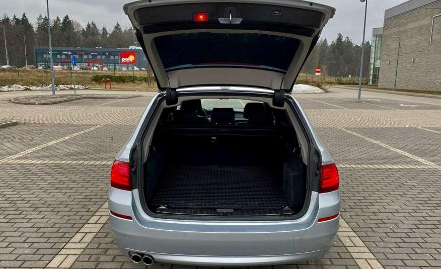 BMW 525 2.0 twin turbo 218KM, x drive, automat, skóry, bi xenon, led, rok gwarancji zdjęcie 20