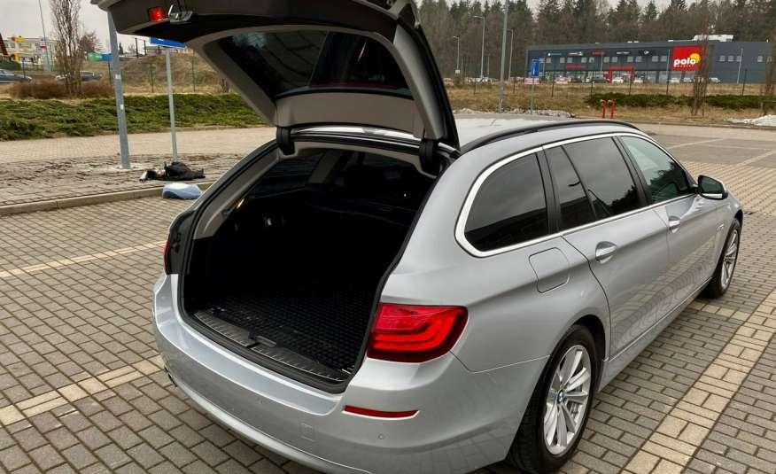 BMW 525 2.0 twin turbo 218KM, x drive, automat, skóry, bi xenon, led, rok gwarancji zdjęcie 21