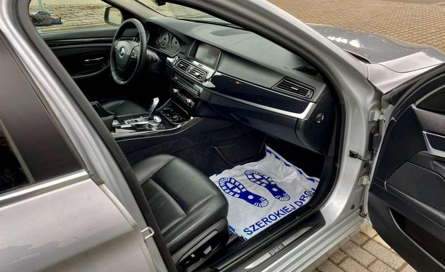BMW 525 2.0 twin turbo 218KM, x drive, automat, skóry, bi xenon, led, rok gwarancji zdjęcie 22