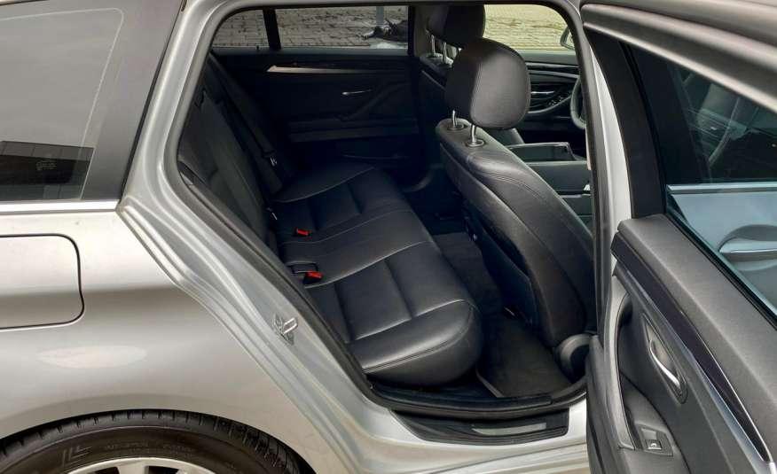 BMW 525 2.0 twin turbo 218KM, x drive, automat, skóry, bi xenon, led, rok gwarancji zdjęcie 24