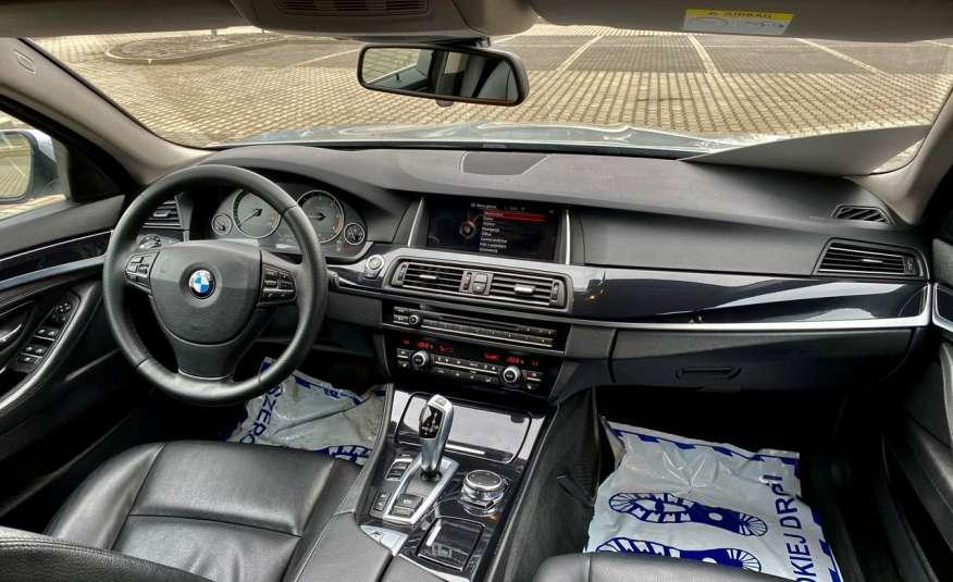BMW 525 2.0 twin turbo 218KM, x drive, automat, skóry, bi xenon, led, rok gwarancji zdjęcie 25