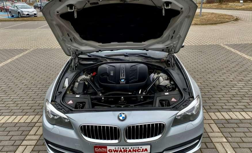 BMW 525 2.0 twin turbo 218KM, x drive, automat, skóry, bi xenon, led, rok gwarancji zdjęcie 26