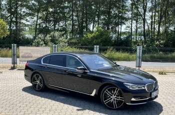BMW 740 740d x-Drive / Individual / Salon PL I-właściciel / Bezwypadkowa