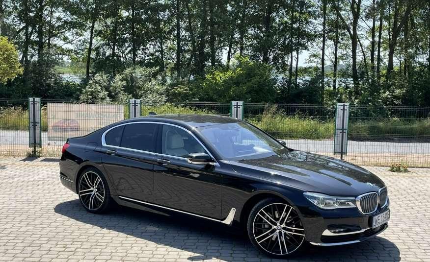 BMW 740 740d x-Drive / Individual / Salon PL I-właściciel / Bezwypadkowa zdjęcie 1