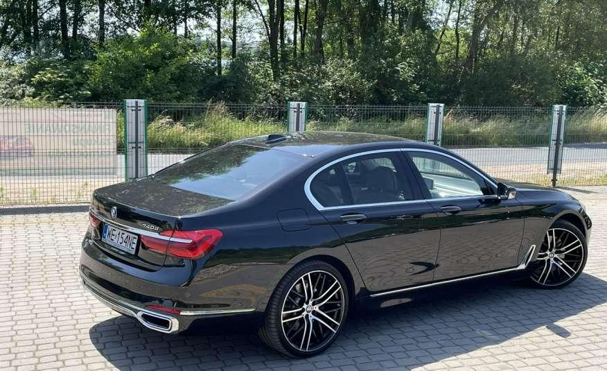 BMW 740 740d x-Drive / Individual / Salon PL I-właściciel / Bezwypadkowa zdjęcie 2