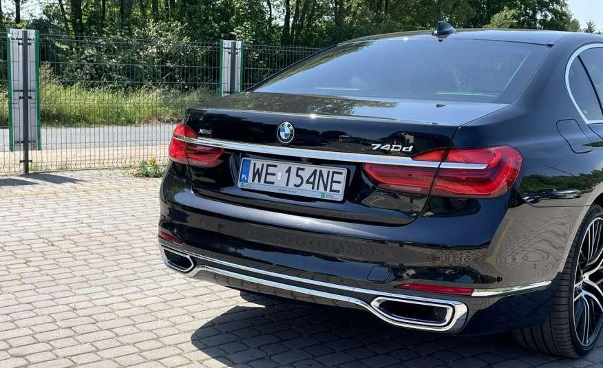 BMW 740 740d x-Drive / Individual / Salon PL I-właściciel / Bezwypadkowa zdjęcie 3
