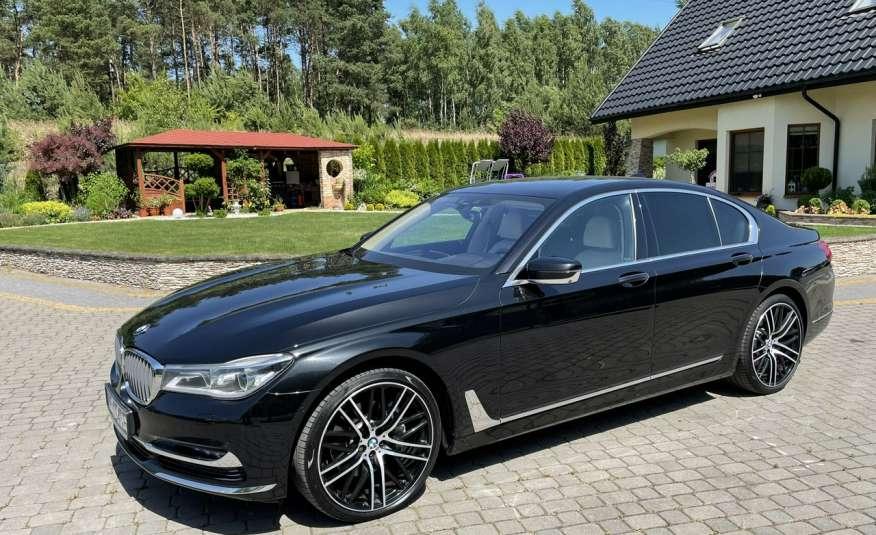 BMW 740 740d x-Drive / Individual / Salon PL I-właściciel / Bezwypadkowa zdjęcie 4