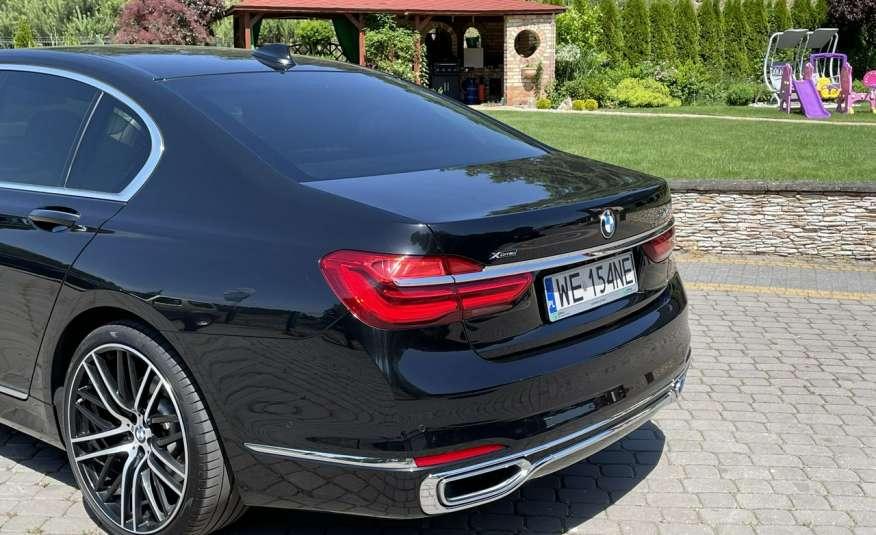 BMW 740 740d x-Drive / Individual / Salon PL I-właściciel / Bezwypadkowa zdjęcie 5