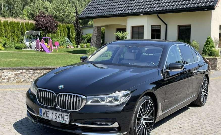 BMW 740 740d x-Drive / Individual / Salon PL I-właściciel / Bezwypadkowa zdjęcie 6