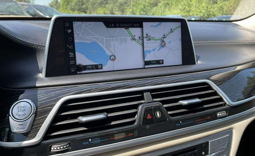 BMW 740 740d x-Drive / Individual / Salon PL I-właściciel / Bezwypadkowa zdjęcie 13