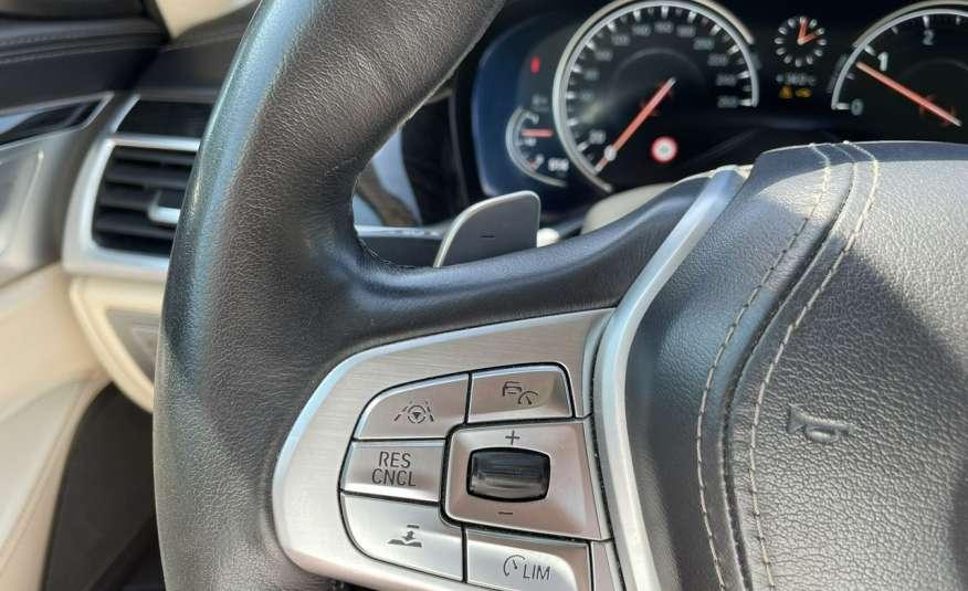 BMW 740 740d x-Drive / Individual / Salon PL I-właściciel / Bezwypadkowa zdjęcie 18